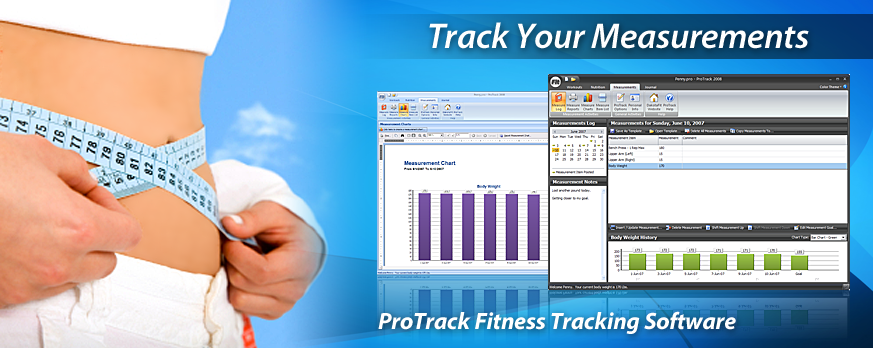 ProTrack Fitness Software - Tracking Measurements